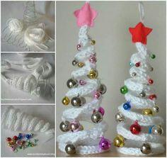 Easy Table Christmas Tree