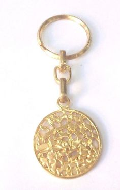Keychain Shema Israel Jerusalem - Key Ring Judaica