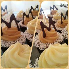 Cupcake Chocolate com Brigadeiro Branco