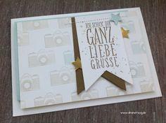 Schönes aus Papier handgemacht!: Ganz liebe Grüße