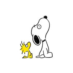 Snoopy and Woodstock Charlie Brown Und Snoopy, Snoopy Und Woodstock, Snoopy Wallpaper, Disney Fantasy, Peanuts Snoopy, Doodle Art, Cartoon Characters, Painted Rocks, Illustration Art