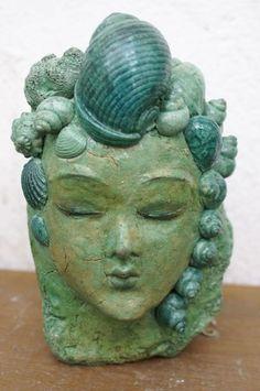 """Skulptur """"Wassergeist"""""""