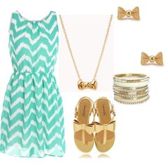 Cute outfit for church in the summer