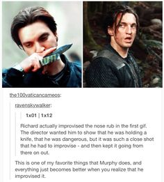The 100 || Richard Harmon || John Murphy