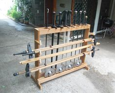Sword Racks & Storage -- myArmoury.com