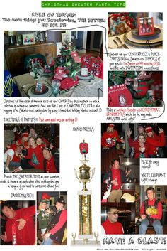 """Ugly Sweater-ize for your Party needing ideas for a FUN Ugly Christmas Sweater Party check out """"The How to Party In An Ugly Christmas Sweater"""" at Amazon http://www.amazon.com/Party-Christmas-Sweater-Simple-ebook/dp/B006PGBRDW/ref=sr_1_3?ie=UTF8=1354124434=8-3=the+how+to+party+in+an+ugly+christmas+sweater"""