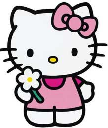 Hello Kitty flower graphghan pattern by CraftingByKirsti on Etsy Sanrio Hello Kitty, Hello Kitty Bow, Hello Kitty Tattoos, Hello Kitty Themes, Hello Kitty Birthday, Hello Kitty Drawing, Hello Kitty Imagenes, Hello Kitty Coloring, Hello Kitty Pictures