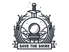 (Sort of Single Weight) Save the Shire Crest by Nick Slater