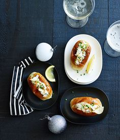 Mini lobster rolls recipe | Coogee Pavilion :: Gourmet Traveller