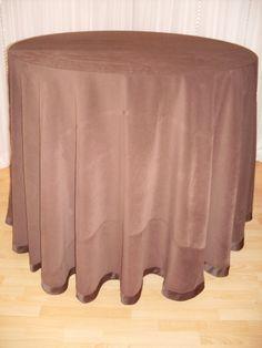 Suede linen - Medium Brown #linen #chairdecor #linenfactory #event #finelinen