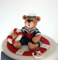 Torturi - Viorica's cakes: Tort botez navy, Tudor Cristian