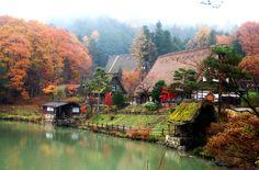 Silencee !! Peacefull times Takayama in Japan **