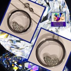 Sterling Silver Heart NecklaceSALE New sterling silver 20 inch chain, floating heart with AAA Quality pave CZ's Pendant is the size of a quarter Reasonable offers are always welcome Bundle both of my Poshmark closets and save up to 50% off on bundles. Last sale price was $80 and now… @demitria67 Thank you for shopping Demitria's Treasures Jewelry Necklaces