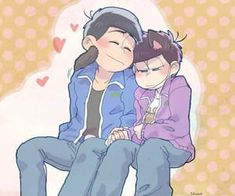 Image discovered by ・◦✿ ¦ ☾ 一松 ☽ ¦ ✿◦・. Find images and videos about ichimatsu, karamatsu and karaichi on We Heart It - the app to get lost in what you love. Cute Images, Cute Pictures, Osomatsu San Doujinshi, Dark Anime Guys, Ichimatsu, Ship Art, Cute Gay, Anime Ships, Anime Comics
