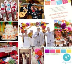 Mexican wedding inspiration