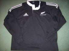 27822faea5c 2003 2004 New Zealand L/s Rugby Shirt Adults XXL All Blacks All Blacks Shirt
