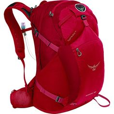 Osprey Packs Skarab 32 Hydration Pack  18311953cu in Inferno Red ML ** Click on the image for additional details.