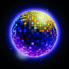 Disco Ball Background | Sparkling disco neon light ball background vector 01 Disco Lights, Ball Lights, Geometric Tattoo Meaning, Musica Disco, Fluorescent Colors, Architecture Tattoo, Aesthetic Movies, Disco Ball, Backgrounds Free