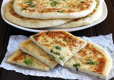 Garlic Cheese Naan Bread on MyRecipeMagic.com