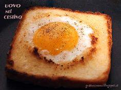 Le uova nel cestino