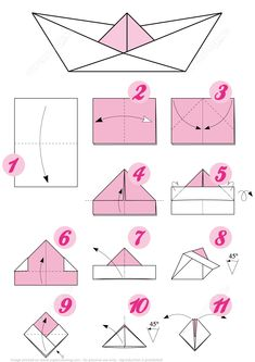 How To Make An Origami Boat Step By Step Origami Little Boat Instructions Free Printable Papercraft Templates. How To Make An Origami Boat Step By Step 3 Ways To Make A Paper Battleship Wikihow. How To Make An Origami Boat… Continue Reading → Origami Boot, Instruções Origami, Basic Origami, Origami Simple, Origami Paper Folding, Kids Origami, How To Make Origami, Origami Boat Instructions, Origami Tutorial