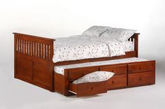 Ginger Captain's storage bed for kids