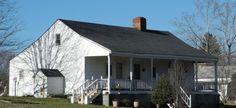 Une demeure typique de l'architecture coloniale française, bâtie en 1818 à Old Mines, Missouri - Kbh3rd via Wikimedia Commons - licence CC-BY-SA