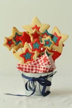 Half Baked: Star Spangled Cookie Centerpiece