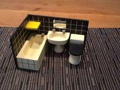 Lundby: Bathroom, old