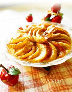 「焼き林檎のシナモンメープルパンプディング」のレシピ by mimitearstarさん | 料理レシピブログサイト タベラッテ