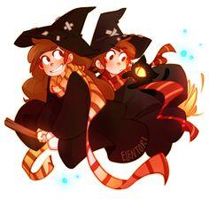 witch.quenalbertini: Happy Halloween! by Elentori on DeviantArt