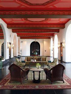 Royal Hawaiian Hotel (Honolulu). Gorgeous design by Philpotts Interiors.