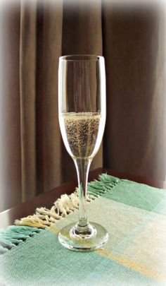 Flute Glass Champagne Bubbly Wine Fake Drink Faux Food Photo Staging Prop | eBay $38