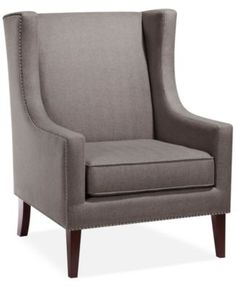 Sloane Fabric Accent Chair, Direct Ship | macys.com