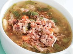 Soup in rice? Yes! This one-dish meal is extra comforting.