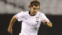 Graham Zusi  #7 for USMNT in 2012, plays club soccer for Sporting Kansas City of the MLS.