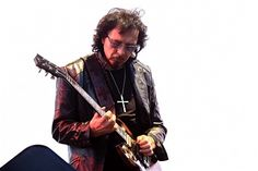 Tony Iommi of Black Sabbath performs on stage at the British Summer Time Festival at Hyde Park on July 4, 2014 in London, United Kingdom.
