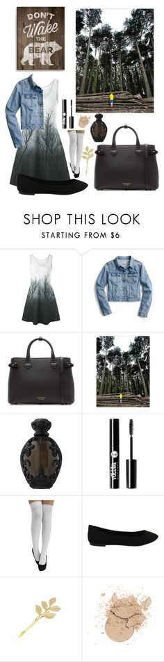 """""""Into The Woods"""" by pandashipper1227 ❤ liked on Polyvore featuring J.Crew, Burberry, Kat Von D and Charlotte Russe"""
