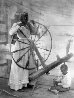 Spinning Photograph by Mary Morgan Keipp (1875-1961)