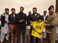Shahid Afridi with Peshawar Zalmi for APS