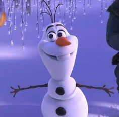 """DID OLAF EVER GET HIS WARM HUG? 