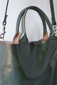 L'émeraude de sac - cuir italien - Stella