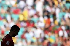 Cristiano Ronaldo disappointed (photo: Reuters / Dylan Martinez) #WC2014 Germany vs Portugal
