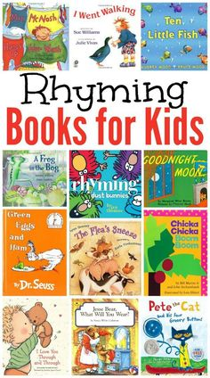 Rhyming Books for Kids {Our Favorites}