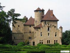 Château de Montbaly - Vaulx-Milieu, Isere Rhône-Alpes, France. | #european #castle