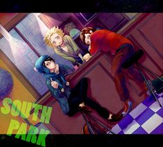 South Park Craig Tweek and Clyde