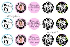 Audrey Hepburn bottlecap images