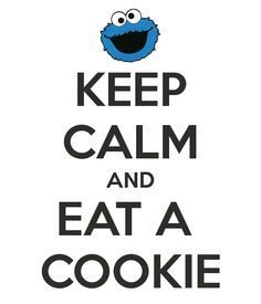 That's me that's what I say. I love cookies but only two kinds chocolate chip and sugar cookies.