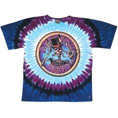 Grateful Dead Queen Of Spades Tie Dye T-shirt