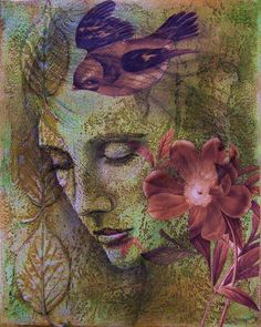HER GENTLE HEART - ART BYCarrie Vielle